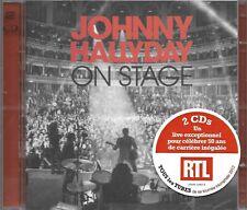 On Stage (2 Cd) Warner Johnny Hallyday 825646448395 01/01/2013