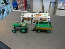 Kovap Zetor Traktor Grün mit Hänger !!!! Blechspielzeug neuwertig