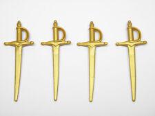 Playmobil Espada Sword Médiévale Pirate Chevalier - Épées Sabres Or AC1677