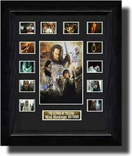 Cast Signed Lord of the Rings The Return of the King  film cell poster prop