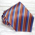 Cravatta uomo righe ,Nuova, qualità TOP ,100% seta, Made in Italy,handmade