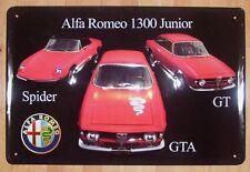 ALFA ROMEO, BLECHSCHILD SPIDER/GTA/GT