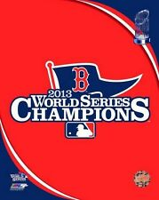 2013 BOSTON RED SOX World Series CHAMPS team LOGO LICENSED poster 8x10 photo