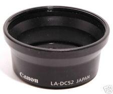 Adattatore 52mm. Canon LA-DC52 per A10-A20-A30-A40