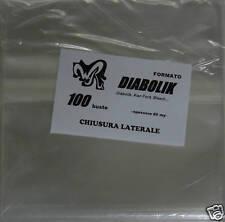DIABOLIK con CHIUSURA LATERALE - WR BUSTE pacco da 100 per Diabolik, Kriminal