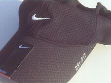 NEW! RARE Black NIKE Men-Women Adult Runner TAILWIND Training DRI-FIT Golf  Hat