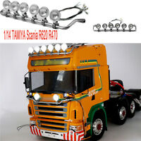 DIY LED Spotlight 1:14 Trucks Highline RC TAMIYA Scania R620 R470 Model Separate