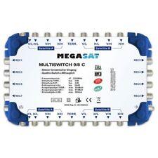 Megasat multi-interruptor 9/8 C Cascada Multi DiSEqC Distribuidor ampliable Qua