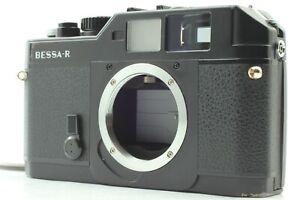 【Excellent+++++】 Voigtlander Bessa-R Black 35mm Rangefinder L39 LTM from Japan