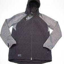 $175 Oakley Men's Quilted Jacket Size Medium Jet Black NWT