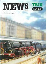 Trix News Profi-Club 01/2003 Magazine Nederlands - NEW