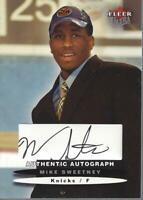 2003-04 Ultra Signatures #9 Mike Sweetney AUTO /350 - NM-MT