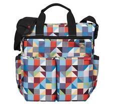 Skip Hop Duo Signature Diaper Bag in Prism Print Multi