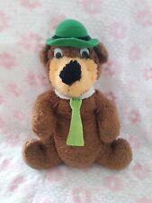 Vintage 1980s Yogi Bear plush toy