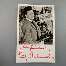 Autogramm Lutz Jahoda auf Autogrammkarte (47844)