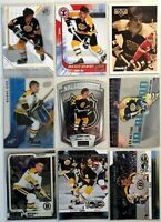 Bobby Orr 9 Card Lot Upper Deck SP Authentic O-Pee-Chee IN Action Boston Bruins