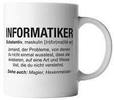 vanVerden Informatiker Fun Wikipedia Job Beschreibung Spruch Motiv Tasse Mug
