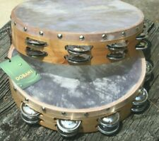 13 Dobani Tambourines wholesale lot made in Pakistan real skin
