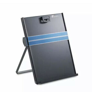 Fellowes Freestanding Desktop Copyholder, Stainless Steel, Black (FEL11053)