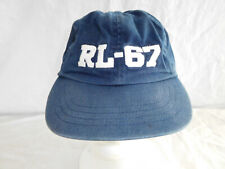Polo Sport Ralph Lauren 67 Baseball Cap Dad Hat Spellout Strapback Youth 4-7