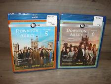 Downton Abbey Season 5 & 6 (Blu-ray) 5th & 6th Seasons *New Sealed*