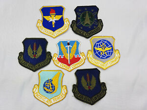 US Air Force Patch Set Space Command USAF in Europe Training Combat Command