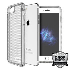 "Prodigee Safetee iPhone 8 PLUS (2017) 5.5"" Case Cover Clear Silver 2m' Drop Test"