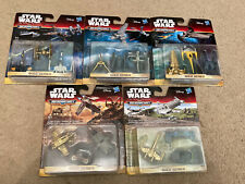 More details for star wars micro machines the force awakens gold series - 5 unopened packs