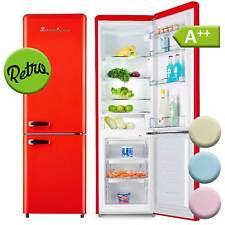 Kühl-Gefrierkombination A++ Kühlschrank freistehend Retro Schaub Lorenz rot NEU