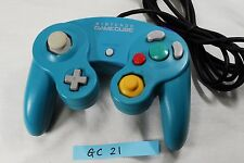 Nintendo Official GameCube Wii Controller Pad Emerald Blue  From Japan GC21