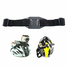 Helmet Halterung Strap Band Mount Zubehör Helm für GoPro Hero 3 3+Silber 4 Black