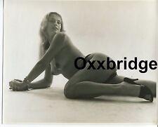 RITA ATLANTA Burlesque ROY KEMP 1950 Nude 8x10 Photo PAPER PIN UP