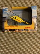 Bell 206B Jetranger Helicopter DHL Die-cast Daron In Box