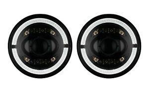 2x LED Scheinwerfer Abblendlicht Fernlicht Standlicht 7 Zoll Mercedes Ford M2