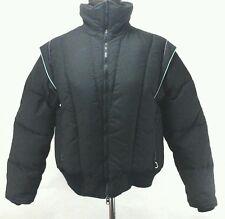 OBERMEYER Vintage 80's Black Zip WITH Pink/Turquoise SKI Jacket Womens Medium M