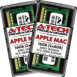 16GB 2x 8GB PC3-12800 DDR3 SODIMM Memory RAM for APPLE MacBook Pro iMac Mac mini