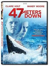 47 Meters Down (DVD 2017) NEW* Horror, Thriller SEALED NOW SHIPPING !!!