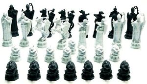 Harry Potter Wizard Chess Set 2002 Genuine Replacement Pieces ~ Pick Your Piece