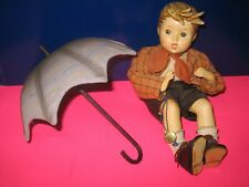 "Goebel M.I. Hummel Umbrella Boy Porcelain Dolls - 8 1/2"" - In Box"
