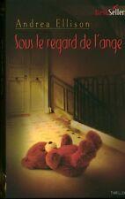 Livre de poche sous le regard de l'ange Andrea Ellison book