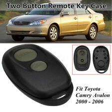 2 Button Car Remote Control Key Fob Case Shell For Toyota Camry Avalon 00-06