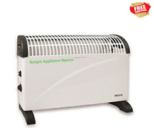 Powerful Convector Heater  Tip-over and overheat protection, 3 Heat settings 2kw