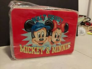 Disney Mickey Mouse Minnie Mouse Mini Metal Lunchbox