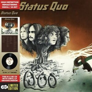 Status Quo Quo 1 Extra Track Remastered Card Sleeve HDCD NEW