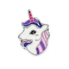 Hot 5pcs 8mm unicorn horse Slider Charm Fit 8MM DIY Wristband / Pet Collar Gift