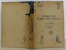 A.A. MILNE & ERNEST SHEPARD (illus) When We Were Very Young SECOND EDITION