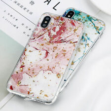 Shockproof Bling Glitter Thin Soft TPU Marble Case Cover For iPhone XS Max 8Plus