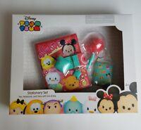 Disney Tsum Tsum Stationary Set Pen Notebook Diary Kids Toys Gift