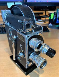 Paillard Bolex H16M 10280 mit 3 SOM Objektiven