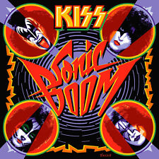Kiss Sonic Boom Vinyl LP CD Cover Bumper Sticker or Fridge Magnet